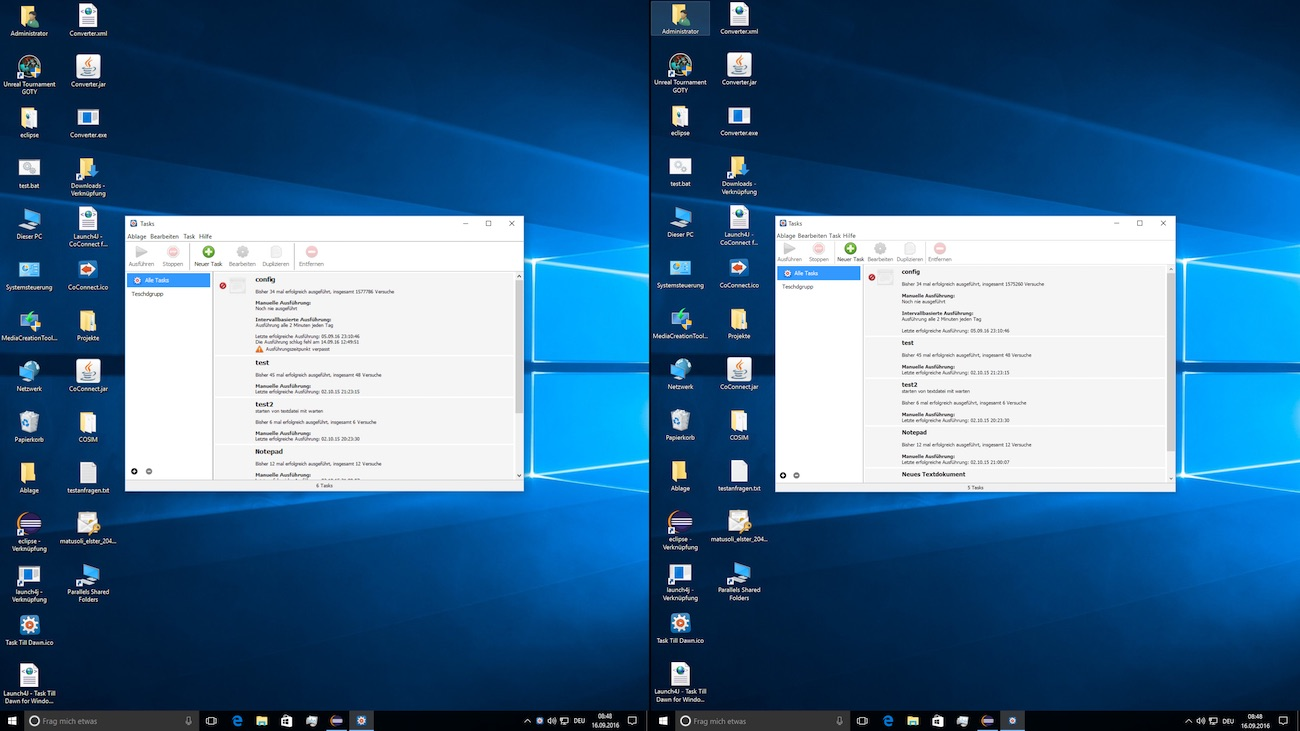OS X Split Screen