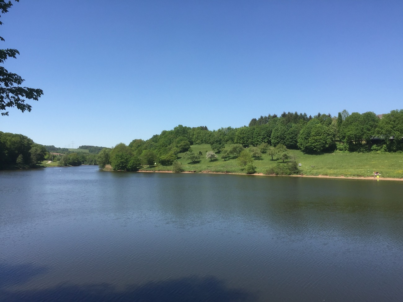 The Ohmbach reservoir