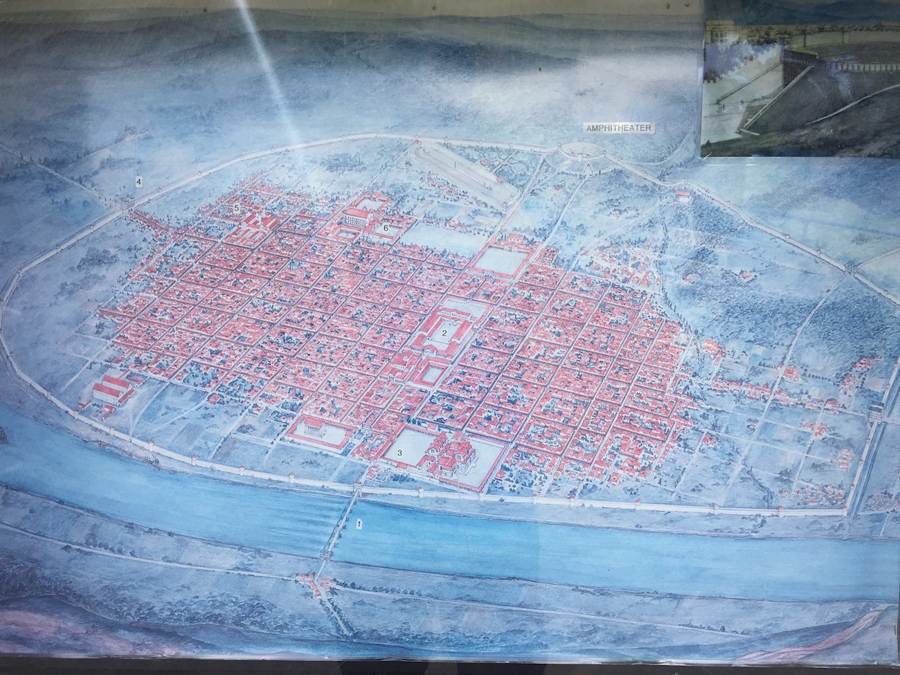 The city of Trier in Roman times
